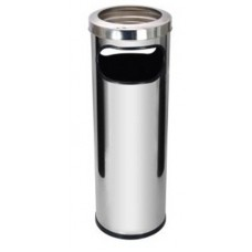 Lixeira Cinzeiro c/ Aro em Aço Inox 30L JSN