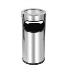 Lixeira Cinzeiro em Aço Inox 22L JSN