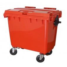 Container Plástico c/ Rodas JSN 660L