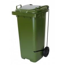 Container Plástico c/ Rodas e Pedal Lateral JSN 120L