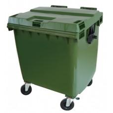 Container Plástico c/ Rodas JSN 1000L