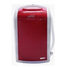 Mini Lavadora de Roupas Praxis Petit Vermelha